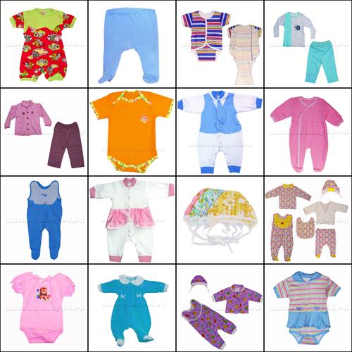 Вещи для новорождённого летнего