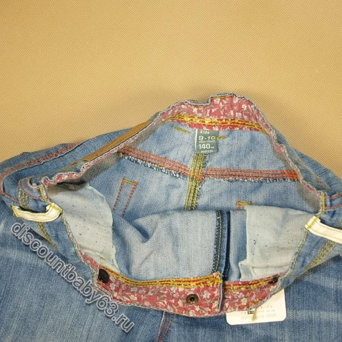 Брюки джинсы детские