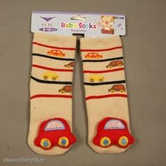 Махровые носки с погремушкой